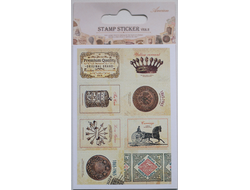 "Наклейки ""Lovely Stamps. Antique"""