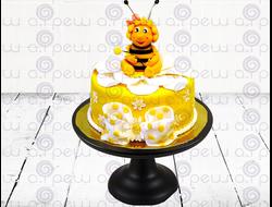 """Торт № 5 """"Пчелка Майя"""" (Детские торты)"""