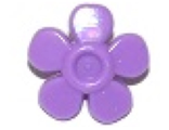 Friends Accessories Hair Decoration, Flower with Smooth Petals and Pin, Medium Lavender (93080g / 6097073)