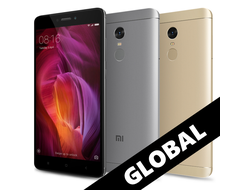 Смартфон Xiaomi Redmi Note 4 64gb+4gb (Snapdragon 625)
