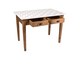 200583 TABLE TERROIR NATURAL 109X67XH79 ALDER+MELAMINE