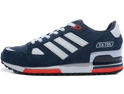 Adidas ZX 750 Blue/White/Red