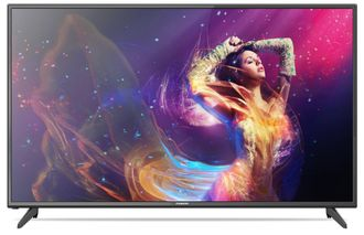 "Телевизор (ЖК) 50"" Fusion FLTV-50B100T (Full HD, 50Hz, DVB-T2/T/C, USB-Video) Black"