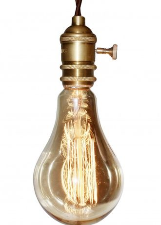 ЛАМПА ITERIA VINTAGE MADISON BIG GOLDEN E27 40W (АРТ. A95/17F2G/40W)