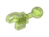 Hero Factory Arm / Leg with Ball Joint on Axle and Ball Socket, Short, Trans-Bright Green (90611 / 6106244)