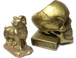 Пудры и глиттеры, имитация металла