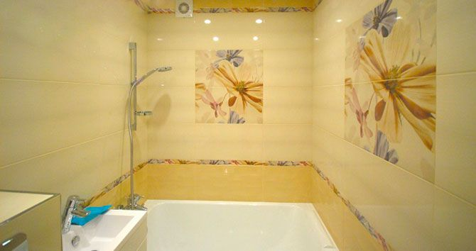 Ванные комнаты плитка дизайн в хрущевке