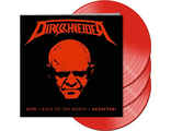 DIRKSCHNEIDER Live - Back to the roots - Accepted! 3LP RED