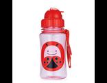 Детский поильник с трубочкой Skip Hop Zoo Straw Bottle ladybug божья коровка