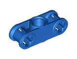 Technic, Axle and Pin Connector Perpendicular 3L with Center Pin Hole, Blue (32184 / 4128599)