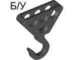 ! Б/У - Technic, Hook Large Metal, Black (70644 / 70644) - Б/У