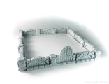 Mansion stone walls (unpainted)