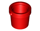Container, Bucket 1 x 1 x 1, Red (95343 / 6003001)