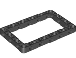 Technic, Liftarm 7 x 11 Open Center Frame Thick, Black (39794 / 6265643)
