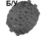 ! Б/У - Wheel Hard Plastic with Small Cleats, Dark Bluish Gray (64711 / 6007027 / 6178537) - Б/У