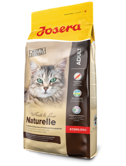 JOSERA Naturelle (Adult Sterilized 35/12)  / Джосера (Йозера) Натурель беззерновой корм для домашних и стерилизованных кошек 10 кг