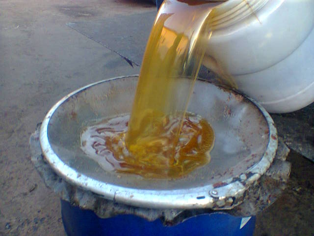 Чистка масла в домашних условиях