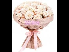 Французский поцелуй 15 роз