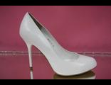 Свадебные вечерние туфли кожаные классические белые каблук шпилька где купить магазин салон интернет