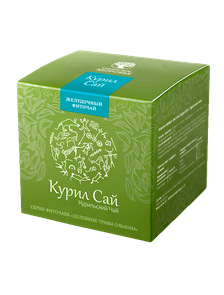 БАД Фиточай «Курил Сай» Курильский чай зеленая упаковка  500022    30 фильтр-пакетов