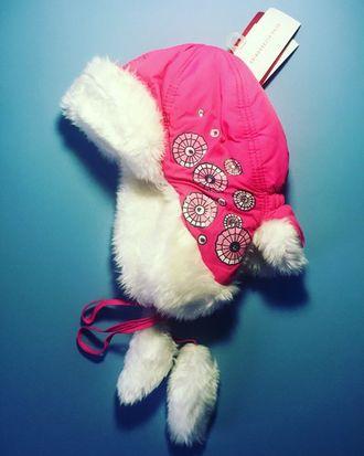 Теплая зимняя шапка-ушанка Reike цвет Bright Pink
