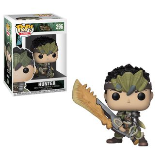 Фигурка Funko POP! Vinyl: Games: Monster Hunter: Hunter Male Rathalos Armor
