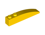 Slope, Curved 6 x 1, Yellow (42022 / 4160392)