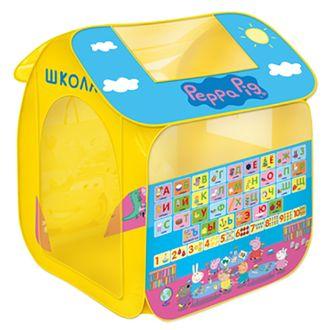 Детская игровая палатка Peppa Pig Учим азбуку с Пеппой