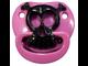 Прикольная пустышка Billy Bob Розовый череп Hot Pink Skull