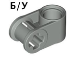 ! Б/У - Technic, Axle and Pin Connector Perpendicular, Light Gray (6536 / 4173667 / 653602) - Б/У