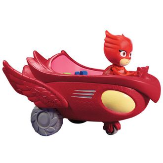 Оулет с машинкой. /  PJ Masks Owlette Flyer Vehicle