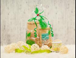 Подарочный набор с чаем «Тандем»