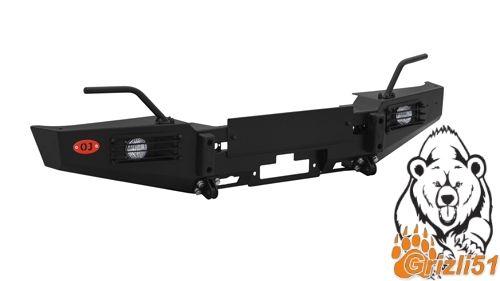 Передний силовой бампер на Land Rover Defender 110  Defender 90