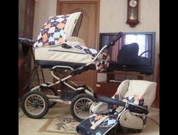 Детские коляски и слинги б/у