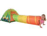 Детская палатка с тоннелем Миньоны