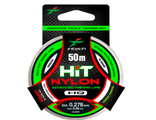 Леска INTECH HIT Nylon 50м, 0,127мм (тест 1,26кг) Япония