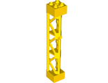 Support 2 x 2 x 10 Girder Triangular Vertical - Type 4 - 3 Posts, 3 Sections, Yellow (95347 / 6074687)