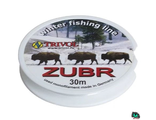 Леска Zubr Winter Fishing Line 0.20 mm. test 4.50kg. 30m