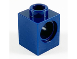 Technic, Brick 1 x 1 with Hole, Dark Blue (6541 / 6293318)