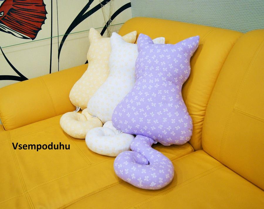 Декоративные подушки легко своими руками 167