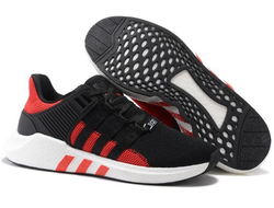 Adidas EQT Support 93/17 black/red Мужские (40-45)