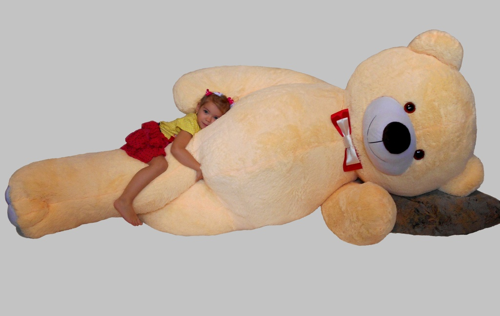 78bba97aadf1 Мистер Медведь Гигант 2 м 50 см, бежевый купить в Киеве, цены