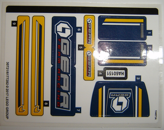 Sticker for Set 60151 - 30721/6177282, n/a (60151stk01)