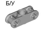 ! Б/У - Technic, Axle and Pin Connector Perpendicular 3L with Center Pin Hole, Light Bluish Gray (32184 / 4211621) - Б/У
