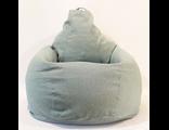 кресло-мешок детское однотонное ткань шенилл