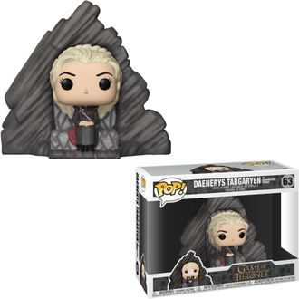 Фигурка Funko POP! Funko POP! Ride: Game of Thrones Daenerys on Dragonstone Throne - Фанко ПОП! Игра
