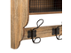 200522 COAT RACK 2 DRAW 3HK GASPARD NAT 58X18X34 IRON+MDF