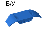 ! Б/У - Technic, Panel Car Spoiler 3 x 8 with Three Holes, Blue (61073 / 4518403) - Б/У