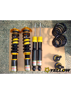 YELLOW SPEED RACING DYNAMIC PRO SPORT COILOVERS MERCEDES C-CLASS W204 07-