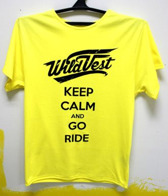 Футболка WildVest KeepCalm Lemon